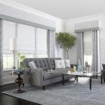 Formal Living Room Shades