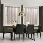 Vertical Blinds Dining Room
