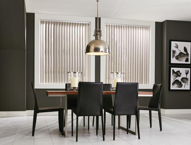 Vertical Blinds Dining Room