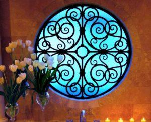Tableaux Window Faux Iron