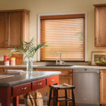 Faux Wood Blinds Kitchen