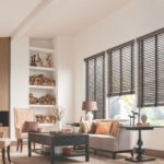 Wood Blinds Living Room